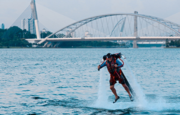 Hover on water with Flyboard Malaysia